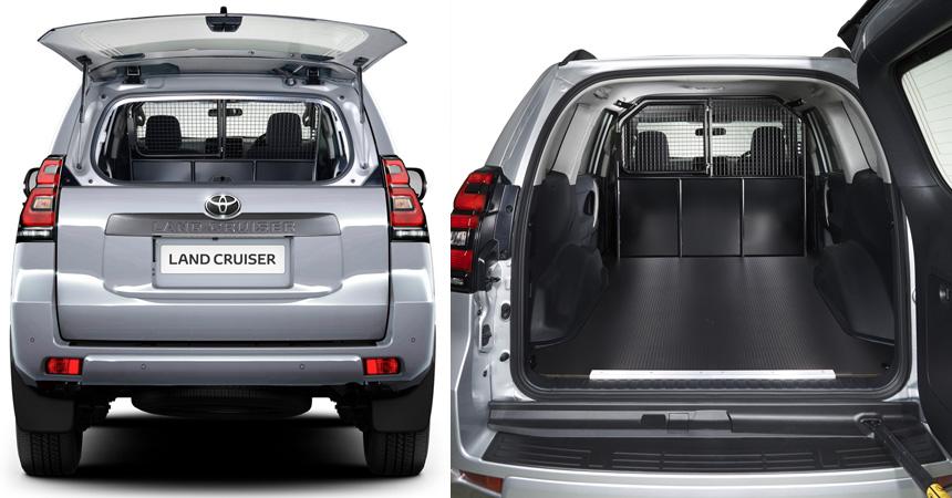 Toyota выпустила новый Land Cruiser Prado в кузове фургон