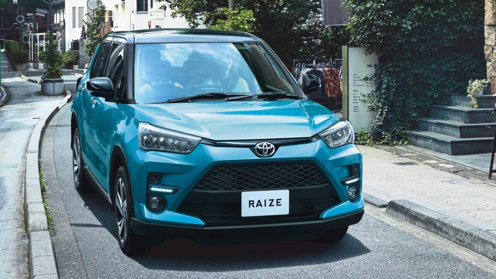 Представлен новый кроссовер Toyota Raize за 1 млн рублей