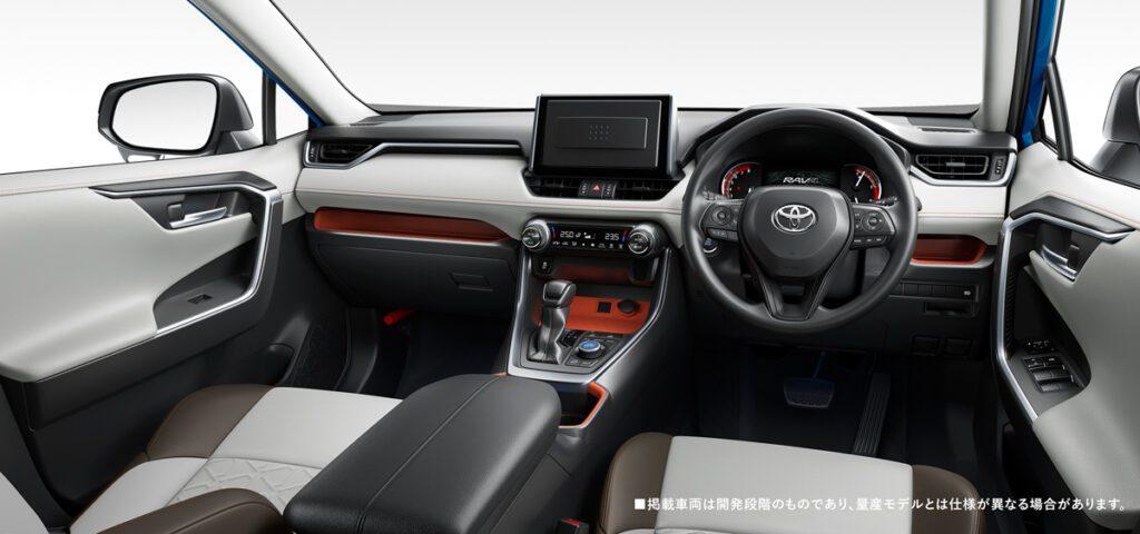 Кроссовер Toyota RAV4 возвращается в Японию