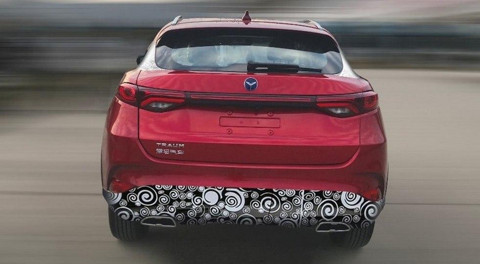 Компания Zotye вывела на тесты копию кросс-купе Mazda CX-4