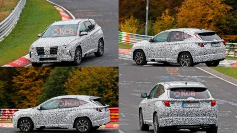 Опубликовали изображения нового кроссовера Hyundai Tucson