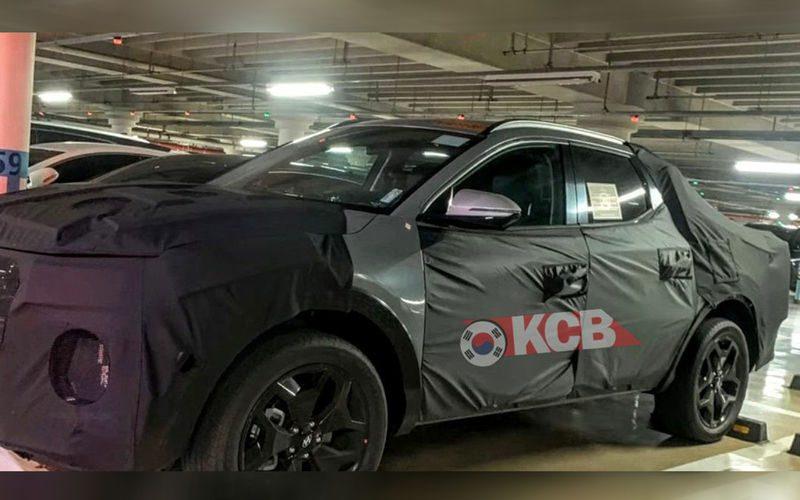 Hyundai вывела на тесты серийный пикап Hyundai Santa Cruz