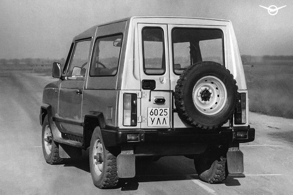 УАЗ вспомнил о предсерийном внедорожнике УАЗ-3171