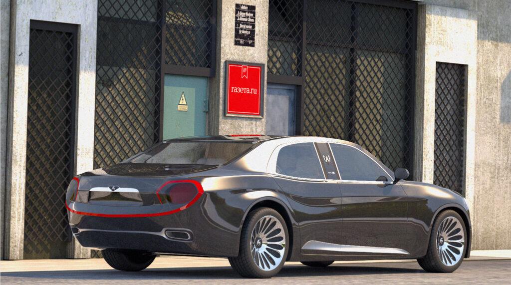 Российские дизайнеры представили ГАЗ-24 «Волгу» будущего
