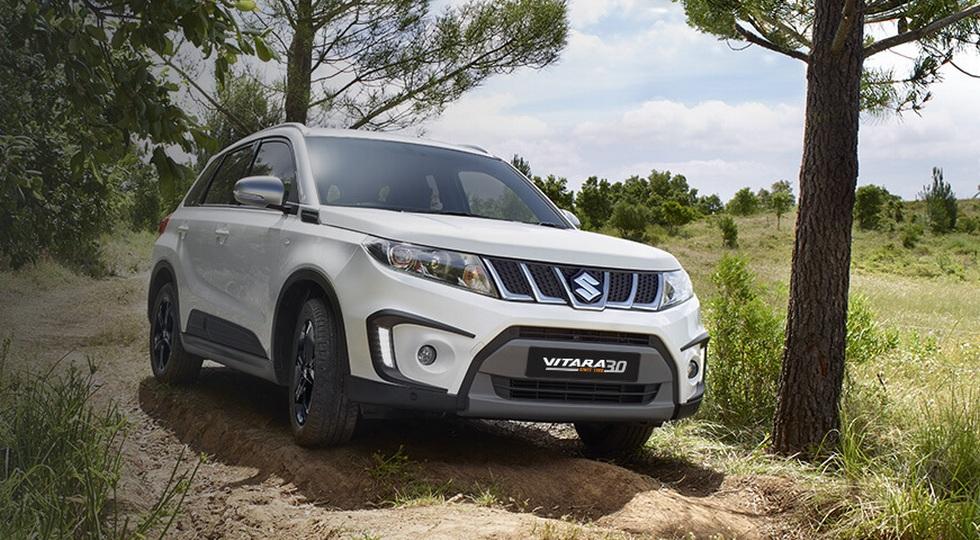 В РФ стартуют продажи юбилейной версии Сузуки Vitara
