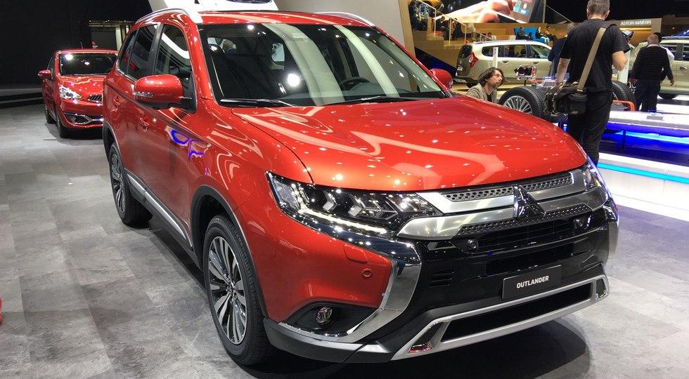 В Женеве представлен обновленный Mitsubishi Outlander, который появится в России