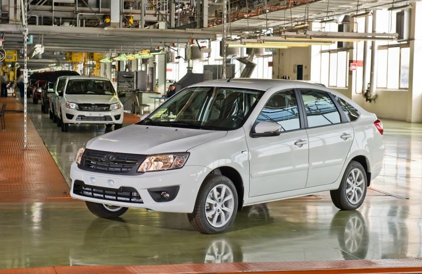Из Ижевска в Тольятти перенесли производство Lada Granta Liftback