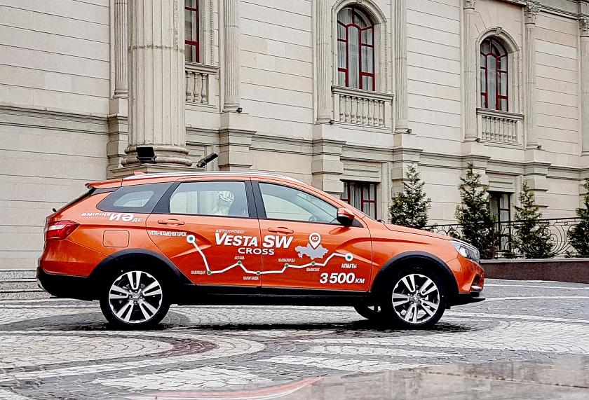В Казахстане стартовали продажи LADA Vesta SW и Vesta SW Cross