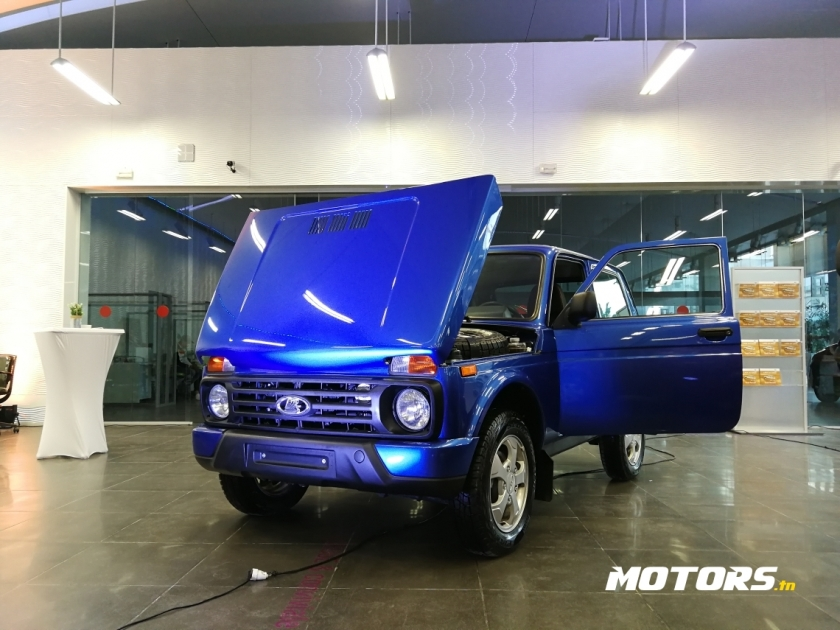 «АвтоВАЗ» начал продажи внедорожника LADA 4x4 Urban в Тунисе