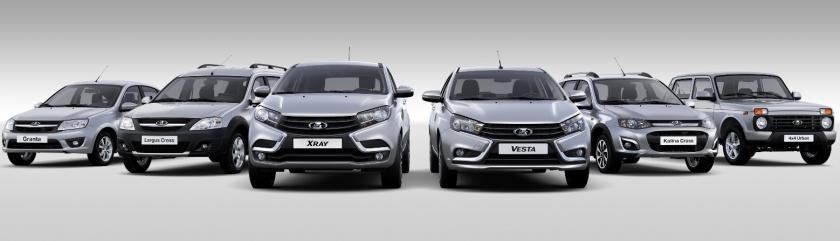 «АвтоВАЗ» продает автомобили LADA со скидками до 115 тыс. рублей