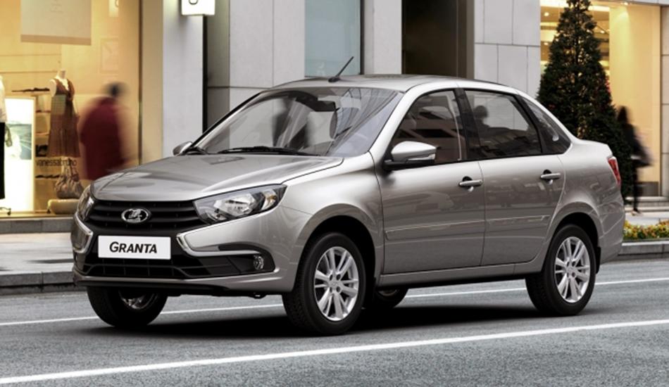 «АвтоВАЗ» представил первую модель обновленного семейства Lada Granta