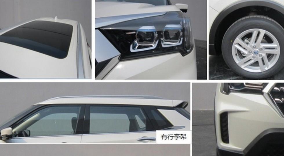 Рассекречен экстерьер нового кроссовера Venucia T60 от Nissan-Dongfeng
