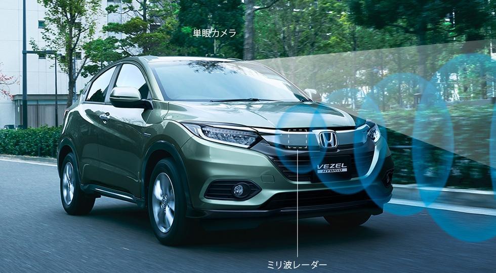 Хонда представит улучшенный кроссовер Vezel всередине февраля