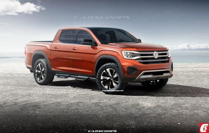 Volkswagen задумался о совместном с Ford производстве среднеразмерных пикапов