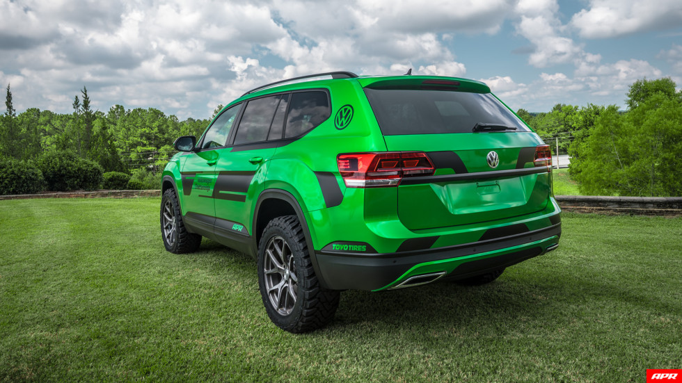 Внедорожник Volkswagen Atlas был презентован тюнинг-ателье APR