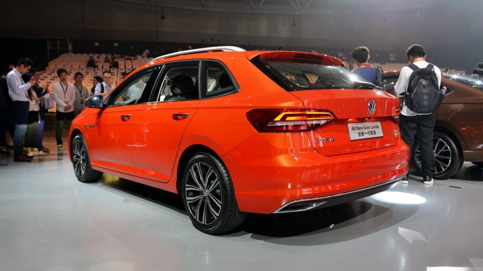 В Китае представили новое поколение хэтчбека Volkswagen Gran Lavida