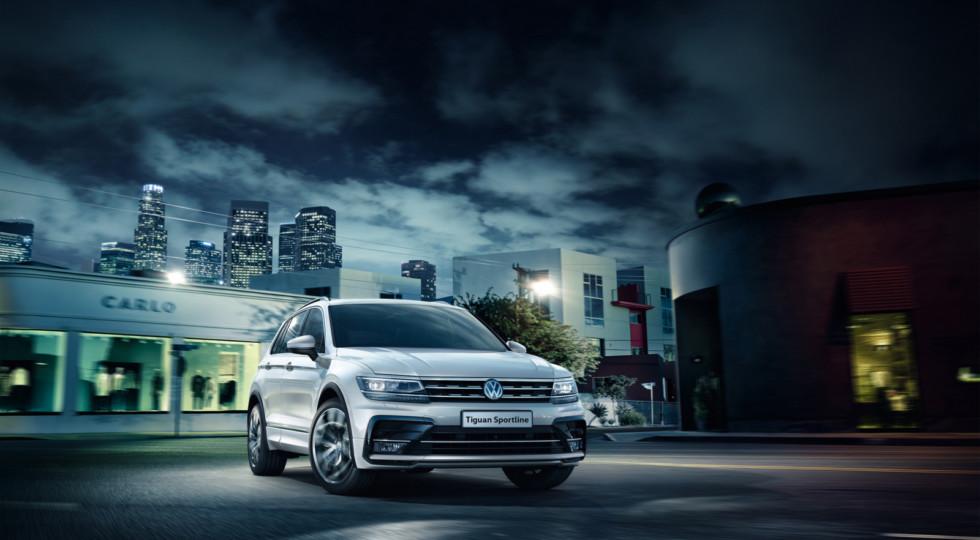 Дилеры Volkswagen в РФ начали продажи кроссовера Tiguan Sportline