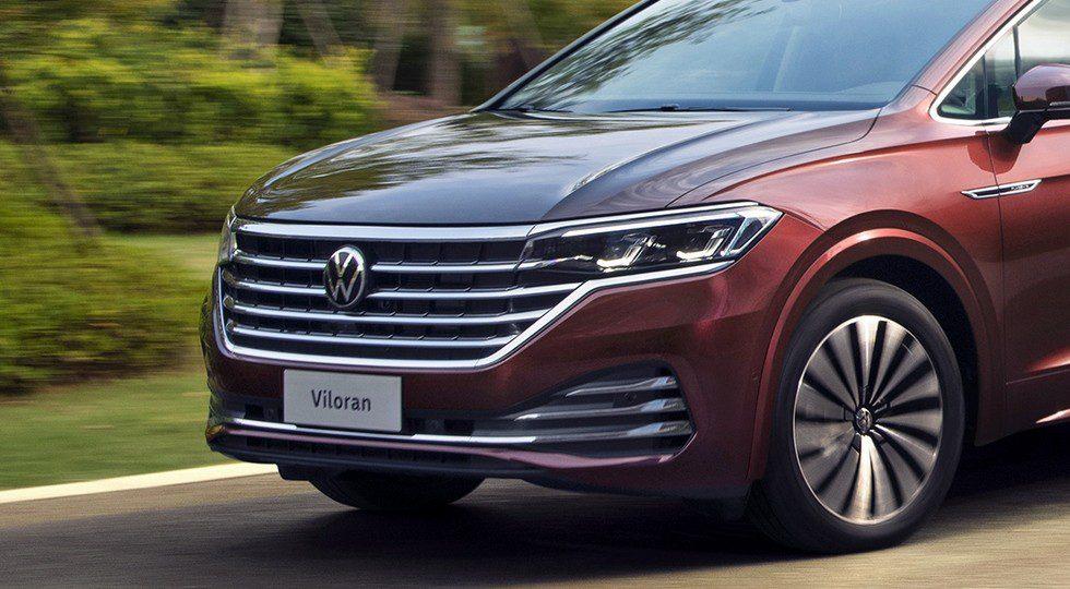Volkswagen представил крупный минивэн Viloran в стиле Touareg