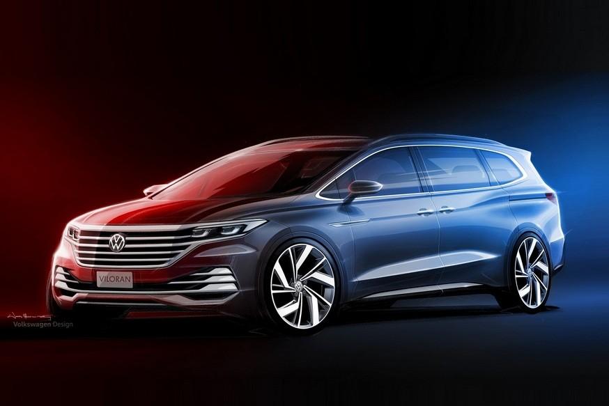 Volkswagen показала первые изображения нового минивэна Viloran
