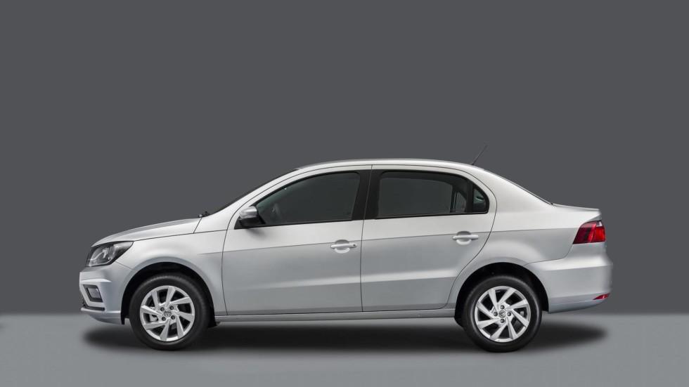 Volkswagen обновила бюджетный седан Voyage и хэтчбек Gol