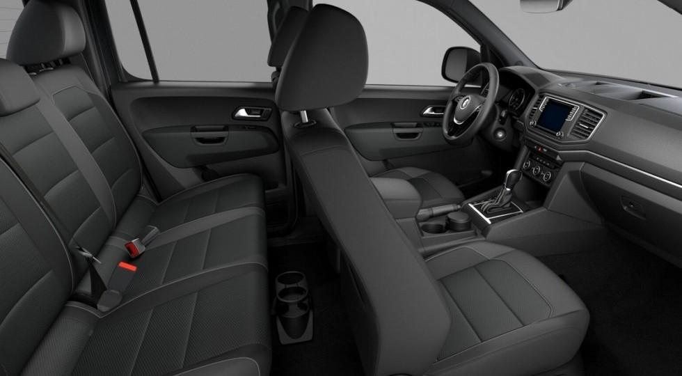 Volkswagen в России назвал цены на спецверсию пикапа Amarok Dark Label