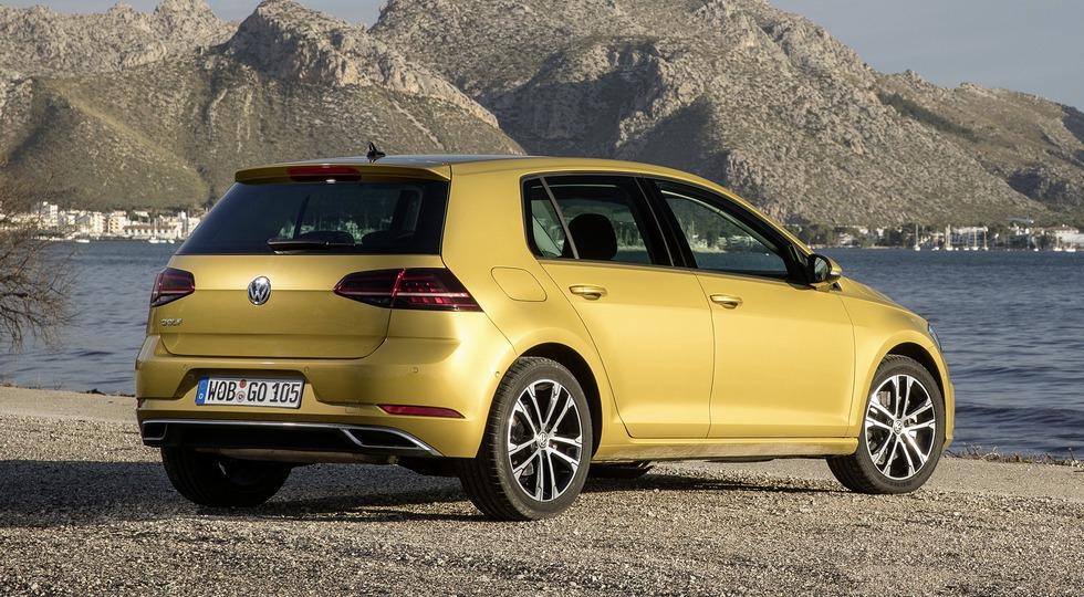 Хэтчбек Volkswagen Golf вернется на рынок РФ в сентябре 2018 года