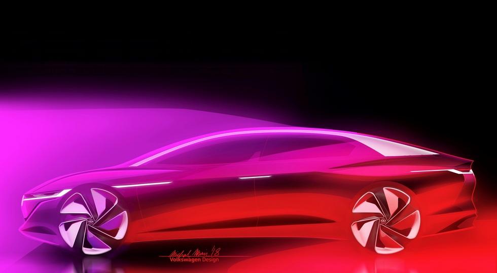 Без руля ибез педалей— концептуальный седан VW I. D. Vizzion