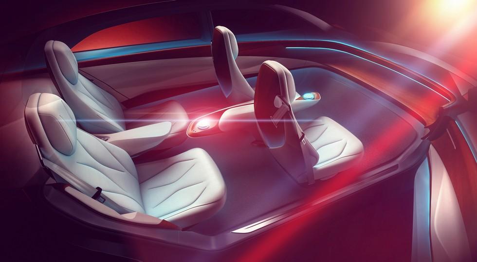 Опубликованы новые тизеры большого седана Volkswagen I.D. Vizzion