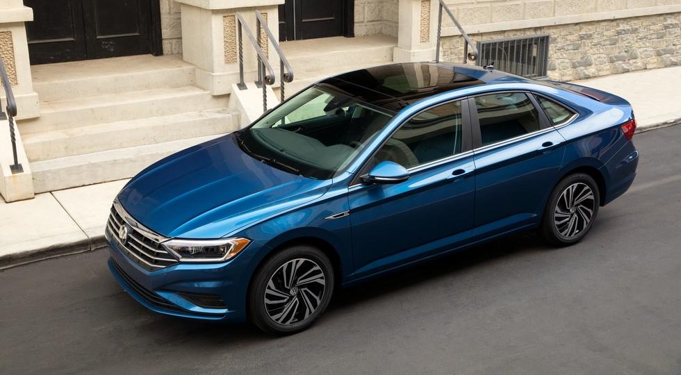 Компания Volkswagen представила новое поколение седана Jetta