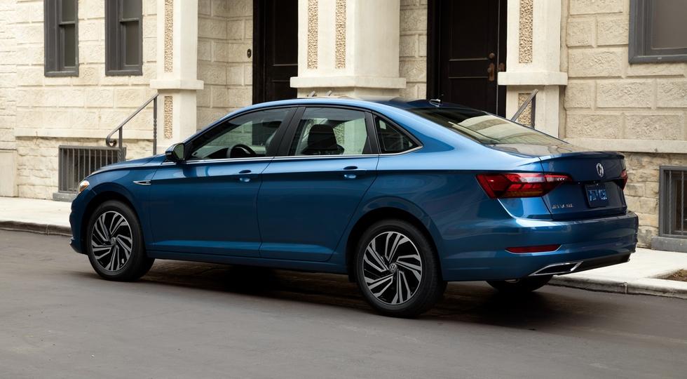 Объявили рублевые цены на новую Volkswagen Jetta
