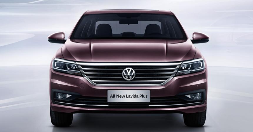 Volkswagen представила новое поколение седана Lavida Plus