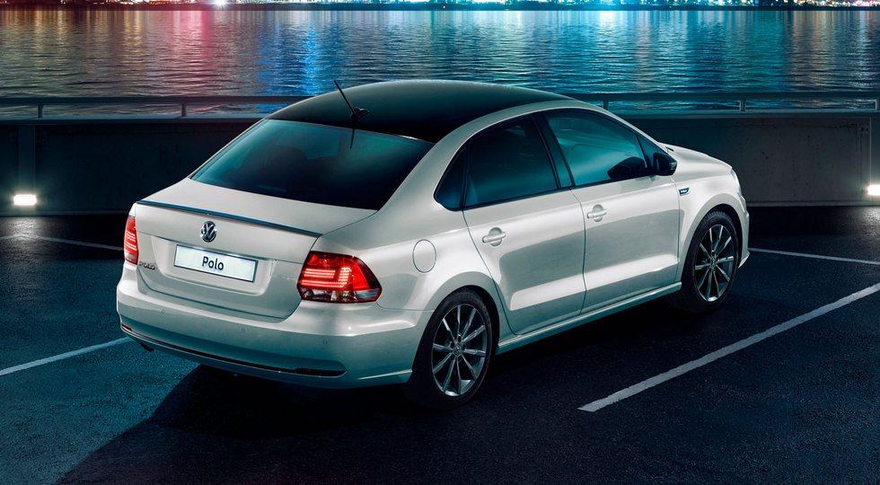 Седан Volkswagen Polo получил в России спецверсию Polo Drive