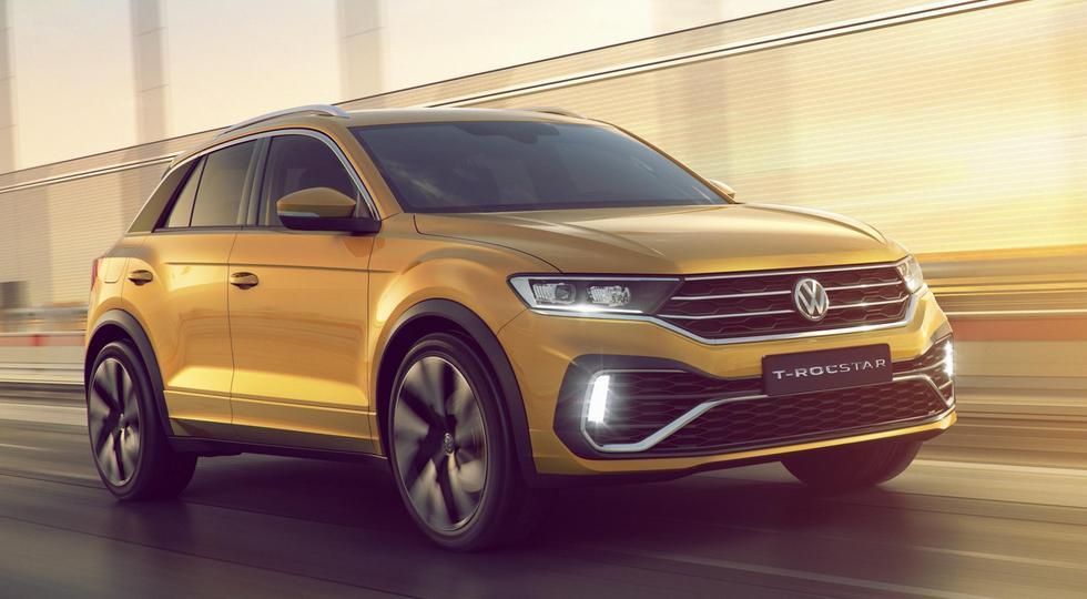 Volkswagen в Гуанчжоу представила новый кроссовер T-Rocstar