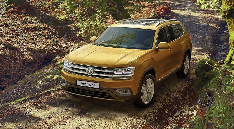 Объявлены российские цены на 7-местный кроссовер Volkswagen Teramont