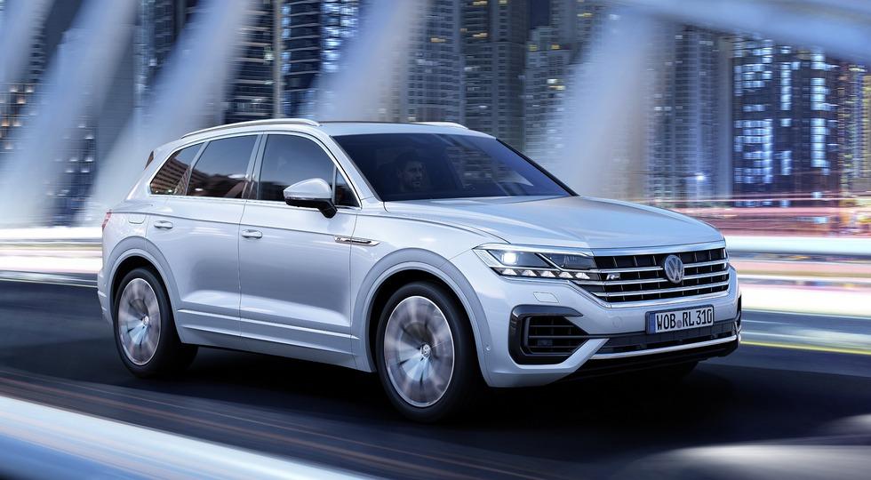 Volkswagen Touareg в России получит новый базовый двигатель