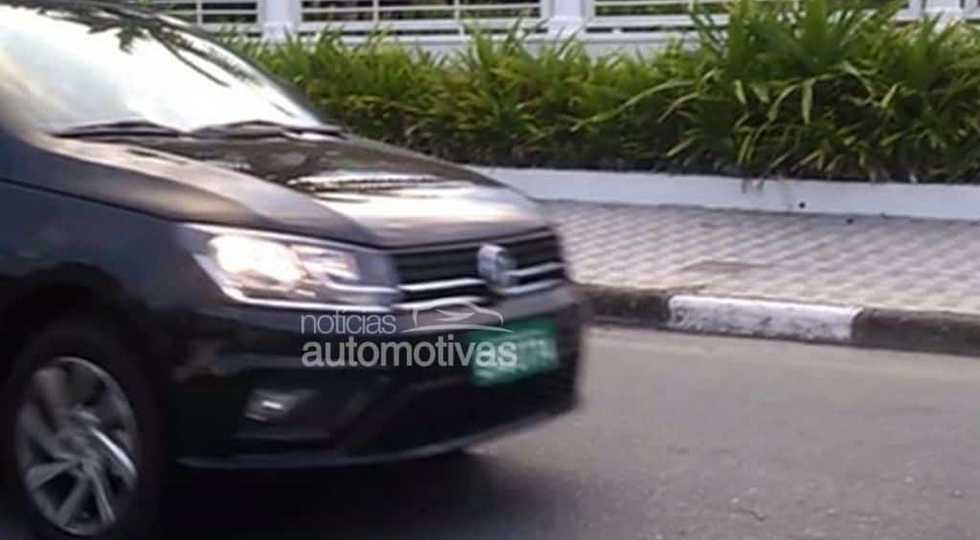 Volkswagen обновила бюджетный седан Volkswagen Voyage