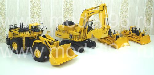 Масштабные модели Komatsu