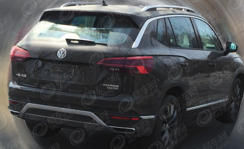В Сети появились первые фото нового кроссовера Volkswagen Tayron
