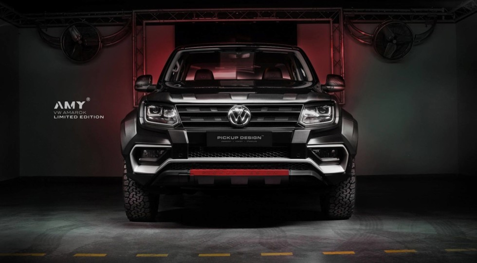 Пикап Volkswagen Amarok получил новую версию Amy от Carlex Design