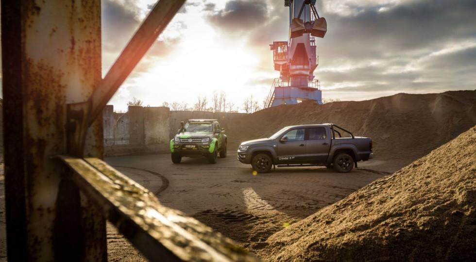 Пикап Volkswagen Amarok получил экстремальную версию от BBM Motorsport