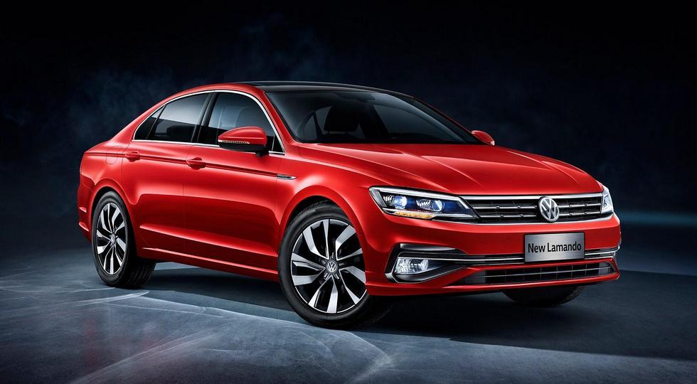 Volkswagen готовит к премьере обновленное купе Volkswagen Lamando