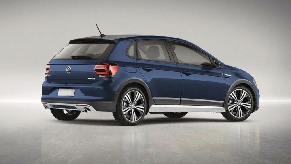В Сети появились первые рендеры внедорожного Volkswagen Polo