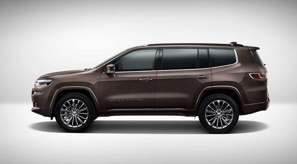 Новый кроссовер Jeep Grand Commander запущен в серийное производство
