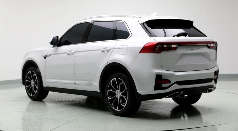Спортивная версия Zotye X7 сменила дизайн Volkswagen на стиль Lexus