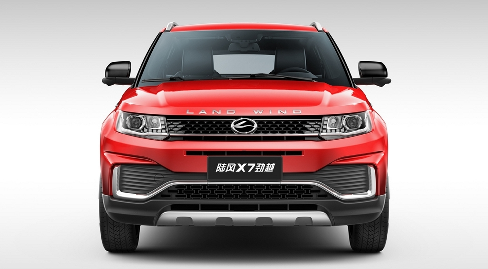 Landwind официально обновила «клона» Range Rover Evoque