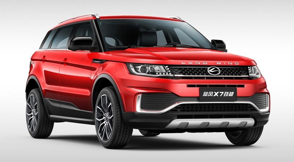 Китайцы обновили клона Range Rover Evoque