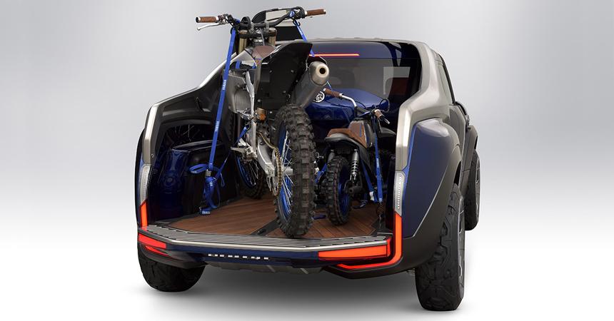Компания Yamaha показала прототип небольшого пикапа Cross Hub