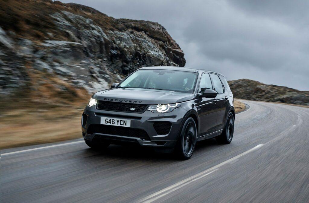 Новый Land Rover Discovery Sport адаптировали к русской зиме