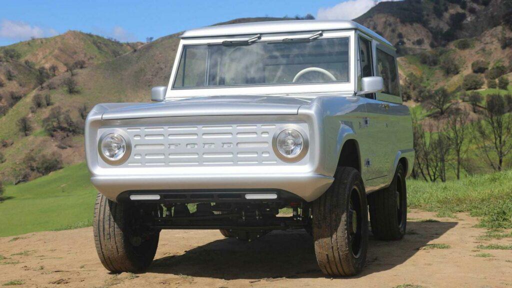Представлен первый в мире электрический внедорожник Ford Bronco