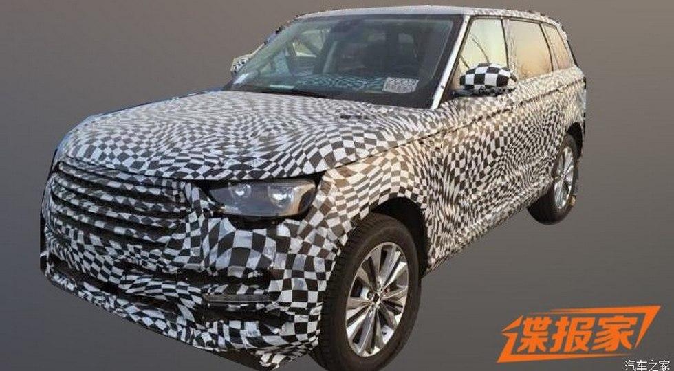 Zotye готовит к премьере флагманский кроссовер с дизайном Range Rover